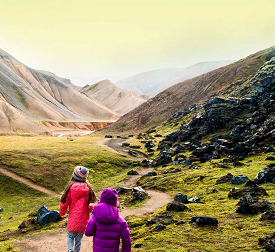 6-Day Iceland Northern Lights Family Multi-Adventure Tour - Teens & Kids - with Backroads